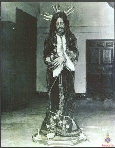 Jesús del Rescate en Santo Domingo, años 20.