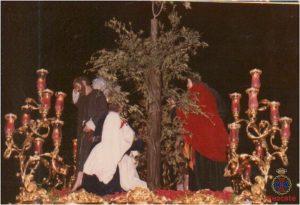 Trono de Jesús del Rescate, 1980.