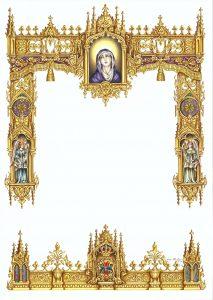 Orla de cultos a la Virgen de Gracia. Curro Claros, 2016.