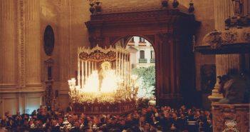 Momento histórico: la Virgen de Gracia en la Catedral.