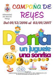 Campaña de Reyes, dona un juguete, dona una sonrisa