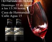 III Cata de vino, 22 de enero