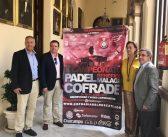 """Presentado en el Ayuntamiento de Málaga la décima edición del torneo benéfico de pádel """"Málaga Cofrade"""""""
