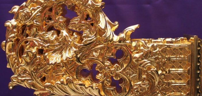 Cabezas de varal del trono de María Santísima de Gracia