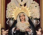 La Virgen de Gracia recibe el pésame en la capilla