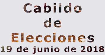 Martes 19 de junio, cabildo de elecciones, es importante tu participación