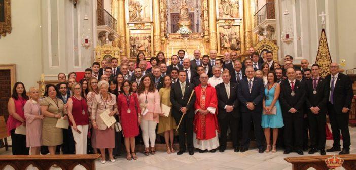 La nueva Junta de Gobierno toma posesión ante la Patrona de Málaga