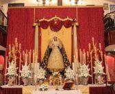 Finalizado el triduo a María Santísima de Gracia