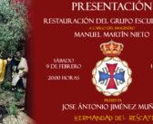 Presentación de la restauración del grupo escultórico