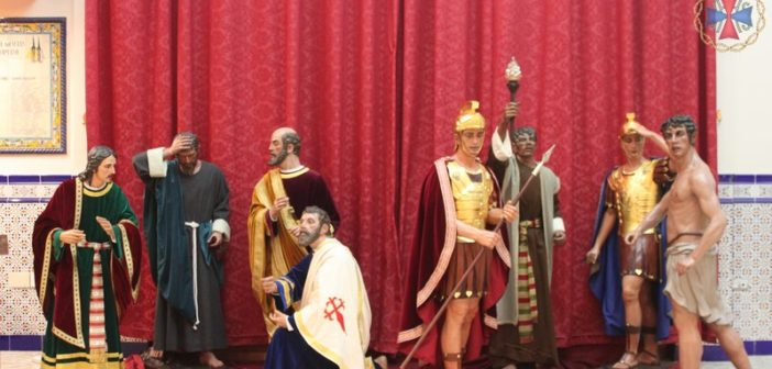 Presentado el grupo escultórico tras la restauración