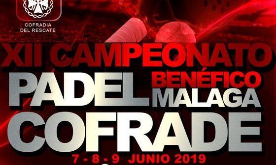 """Cuadros de competición del XII Campeonato de pádel benéfico """"Málaga Cofrade"""""""