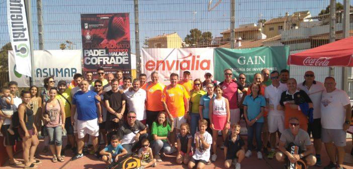 """Gran ambiente en el desarrollo del XII Cto. de pádel """"Málaga Cofrade"""""""
