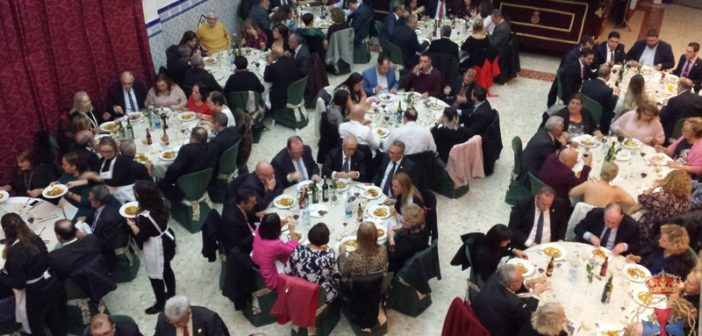 Gran asistencia a la XXII cena benéfica