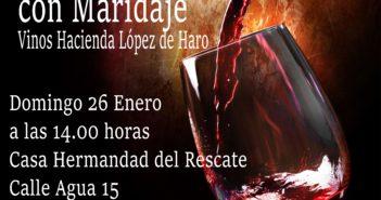 VI Cata de vino, 26 de enero de 2020
