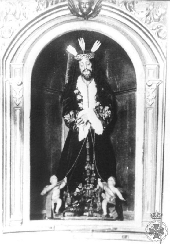 Jesús del Rescate en su capilla de Santo Domingo