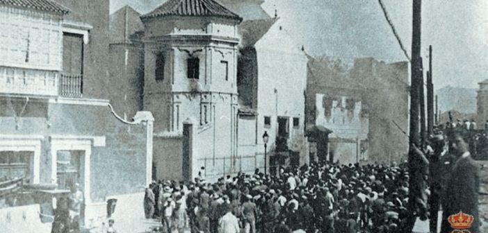 89 años del incendio de la capilla de Jesús del Rescate en la Iglesia de Santo Domingo