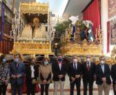 Visita institucional del gobierno andaluz a los Sagrados Titulares