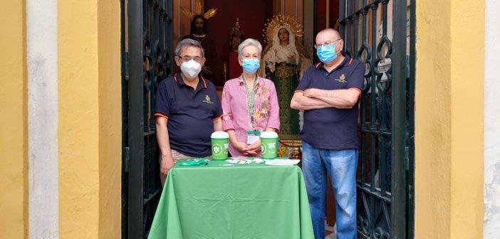 La Hermandad del Rescate colabora con la Asociación Española contra el Cáncer