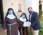La Hermandad del Rescate sufragará, junto a otras 25 hermandades, la reparación y mejora del Monasterio de Santa Clara