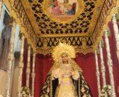 Horario de veneración a María Santísima de Gracia en la casa de hermandad